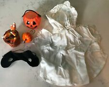 Vintage Halloween Masked Ghost Doll / Plush Toy Costume / Outfit & Accessories