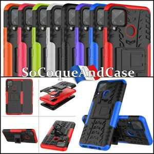 Case Cover Anti-shock Shockproof Combo Tyre Hybrid Shell REALME C11/C15