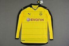 2015-2016 Puma BVB Borussia Dortmund 09 Home Shirt Long Sleeve SIZE XL (adults)