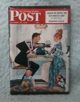 "PARENTS ARGUING OVER VOTE 2""x3"" MAGNET Saturday Evening Post Norman Rockwell FM1"