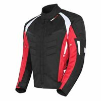 NEW Mens Motorcycle Waterproof Cordura Textile Jacket Motorbike CE Armours