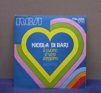 NICOLA DI BARI - IL CUORE E UNO ZINGARO - 45 GIRI - NM/NM