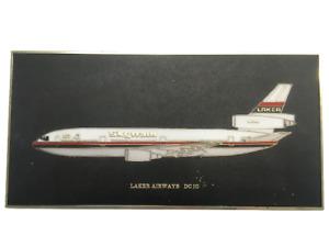 Laker Airways DC10 Aeroplane Plaque