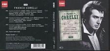 BOX 4 CD FRANCO CORELLI PUCCINI VERDI ROSSINI BELLINI EMI 5099926488721