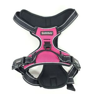 BARKBAY No Pull Dog Harness (Large) Reflective Dog Harness Chest&Back Ring