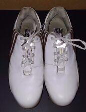 Adidas Traxion, FitFoam White Brown Golf Shoes 791003, Womens 8.5 AdiWear