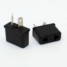 2pcs/lot Universal Australia Travel Power Plug Adapter Converter US/EU To AU