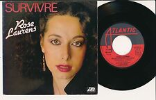 "ROSE LAURENS 45 TOURS 7"" FRANCE SURVIVRE"