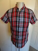 Mens Nudie Jeans Short Sleeved Casual Shirt - Size Medium FREE P&P!