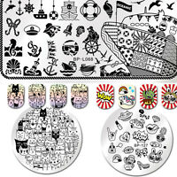 BORN PRETTY Nail Art Stamping Plates Image Stamp Template  Decor DIY NEW