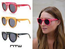 None il più saggio Vale St. handmade BAMBOO ecocompatibili Frame cat-eye sunglasses