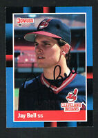 Jay Bell #637 signed autograph auto 1988 Donruss Baseball Trading Card