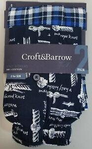 Croft & Barrow 2 Pack Boxers