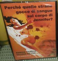 DVD FILM THRILLER 70 EDWIGE FENECH-PERCHè QUELLE GOCCIE DI SANGUE CORPO JENNIFER