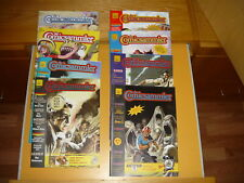"Comic-Magazin/Anzeigen: ""Der Comicsammler"" Heft 1-8 mit Beilagen komplett"