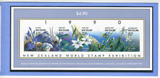 New Zealand World Stamp 1990 MS Season Ticket Numbered Scott # 986 Imperforate
