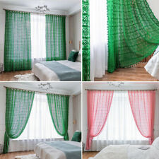 Crochet Curtain For Living Room Windows Bedroom Window Curtains Home Decor New
