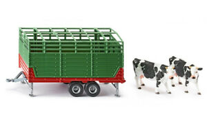 SIK2875 - Cattle Trailer 2 Axles With 2 Cows