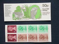 Fb25 Rare Farm Animals Toulouse Goose 50P Machin Stamp Booklet Umfb31