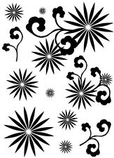 Sarah Hurley Retro Floral Stamp Set
