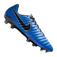NEW NO BOX Nike Legend 7 Pro FG Men's Soccer Cleats Blue Black Tiempo AH7241-400