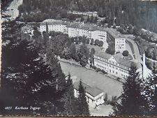 Old Posted Postcard Vintage 1947 Hotels Kurhaus Tarasp Switzerland b