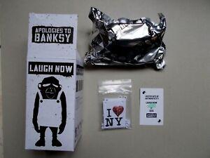 """Banksy , Statuette  """" I Love New York """" , Tirage limité a 500 Ex avec Certificat"""