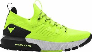 Under Armour Men's Project Rock 3 Training Shoes Yellow 3023004-306