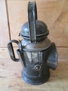 Railway signal lamp.Ralwayana.British Rail. railway lamp.