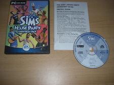 La casa di The Sims 1 party add-on pacchetto di espansione PC CD ROM Sims 1 FAST POST