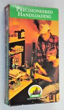 RCBS PRECISIONEERED HANDLOADING VHS Vintage Video Tape How-To Load Pistol Rifle