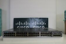 Cisco Catalyst WS-C3750X-48P-S with C3KX-NM-1G - Poe Gigabit Switch !