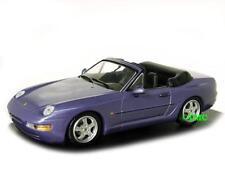 PORSCHE 968 Cabriolet 1991-1995 le violette Blu Metallizzato/Minichamps 1:43