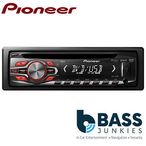 Pioneer DVH-340UB CD DVD Tuner Front USB AUX Car Stereo Radio Player
