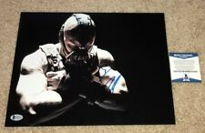 TOM HARDY SIGNED THE DARK KNIGHT RISES TDKR 11X14 PHOTO BATMAN BANE BAS