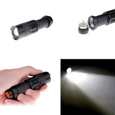 Cree 7W 300LM Adjustable Waterproof LED Flashlight Torch Zoomable Light New