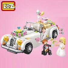 LOZ Wedding Car Model 676 pcs ABS mini blocks model With Box - UK Stock!