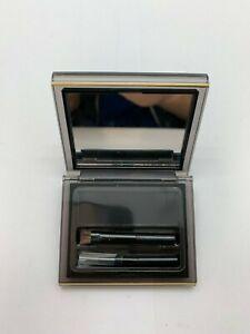 Elizabeth Arden Dual Perfection Brow Shaper and Eyeliner Ebony 05 0.09 Oz/2.7 g