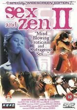 SEX AND ZEN 2 - RARE OOP CAT III WIDESCREEN EDITION - CAT III EROTIC NUDITY R18.