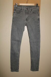 "LEVI'S 510 Mens 30""W 34""L gray Super Skinny Jeans/Pants Combine ship Discount"