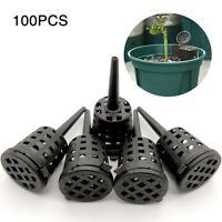 100pcs Plastic Bonsai Fertilizer Basket Box for Flower Orchid Case Garden Tool