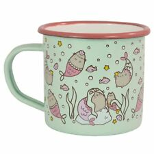 Enamel Mug - Pusheen - Mermaid - The Lazy Cat Fish Sea - Fun Camping Mug