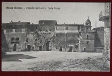 MASSA MARTANA Piazzale Garibaldi e Porta Nuova  viaggiata 1936 f/p #17840