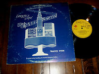 Barry Ross - Lonnie's Cafe 1980 PRIVATE Label LP EX+/VG Cleveland