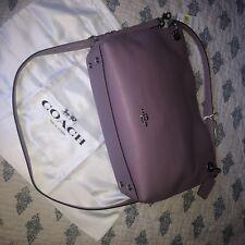 NWT Coach Clarkson Hobo 24947 Leather Shoulder Bag Crossbody Jasmine/Silver