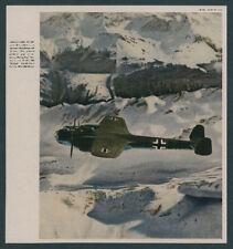 PHOTOGRAPHIE en COULEUR DORNIER DO 215 B chair pilote ALPENFLUG aviation Friedrich Port 1941