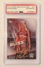 ALEXA BLISS SIGNED AUTO • 2016 WWE DIVAS REVOLUTION ROOKIE • RC • PSA/DNA