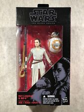 Star Wars The Black Series 02 Rey & BB-8 (With Lightsaber) 6? Action Figures