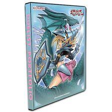 More details for konami yugioh dark magician girl the dragon knig trading card 9 pocket portfolio