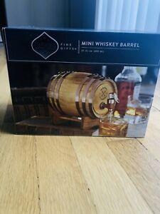 Dashing Mini Whiskey Barrel: 27 fl Oz : Fine Gifts